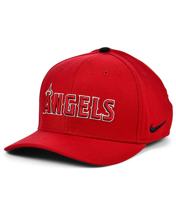 Nike Los Angeles Angels Legacy 91 Dri-FIT Swooshflex Stretch Fitted Cap