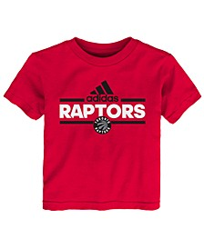 Toddlers Toronto Raptors Basic Logo T-Shirt