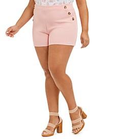 Trendy Plus Size Sailor Shorts