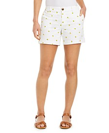 Lemon-Print Shorts, Created for Macy's