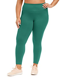Plus Size High-Rise Pocket Leggings, Created for Macy's