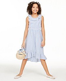 Big Girls Mommy & Me Seersucker Dress, Created for Macy's