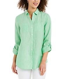 Linen Shirt, Created for Macy's