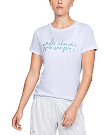 Women's UA Tech Graphic T-Shirt