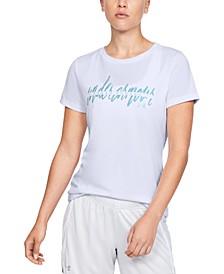 Women's UA Tech Graphic T-Shirt