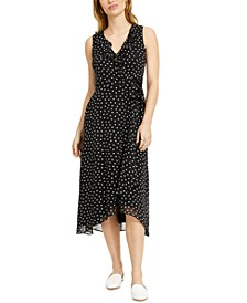 Polka Dot Ruffled Midi Dress, Created For Macy's