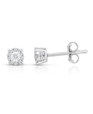 Diamond Stud Earrings (1/3 ct. t.w.) in 14K White Gold