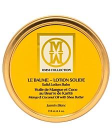 The Jasmin Blanc Solid Lotion Balm, 4 oz