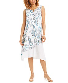 Pauna Asymmetrical Printed Dress, Created for Macy's