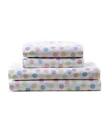MHF Home Kids Rainbow Polka Dots Sheet Sets