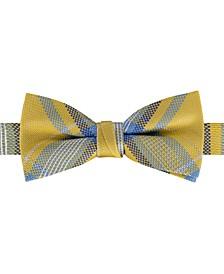 Big Boys Port Pre-Tied Plaid Bow Tie