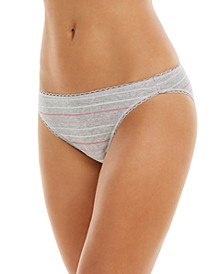 Pretty Cotton Bikini Underwear, Created for Macy's