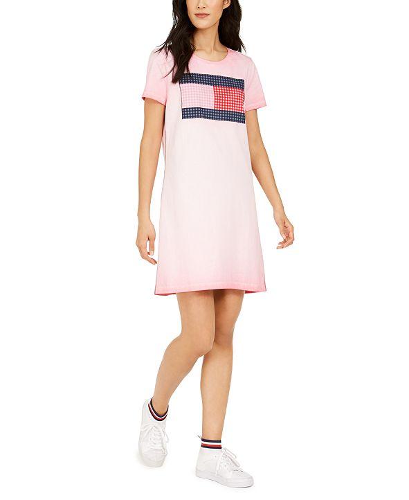 Tommy Hilfiger Cotton Flag Dress