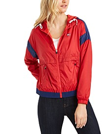 Colorblocked Windbreaker Jacket