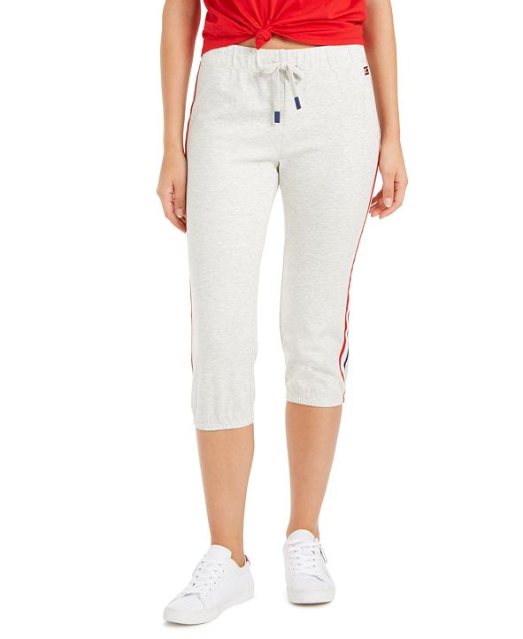 Tommy Hilfiger Cropped Logo Joggers