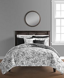 June 8-Pc. Full/Queen Comforter and Quilt Set