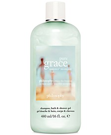 Pure Grace Summer Moments Shampoo, Bath & Shower Gel, 16-oz.