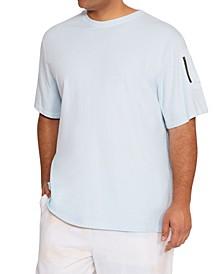 Men's Cargo Zipper Pocket T-shirt