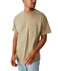 Loose Fit Washed Pocket Tee
