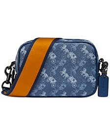 Horse and Carriage Coated Canvas Camera Bag