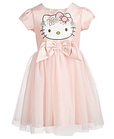 Toddler Girls Flower Crown A-Line Dress