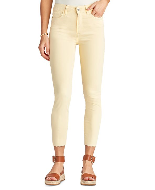 Sam Edelman Denim The Stiletto High Rise Cropped Skinny Jeans