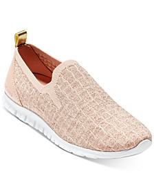 ZERØGRAND Stitchlite Distance Slip-On Sneakers