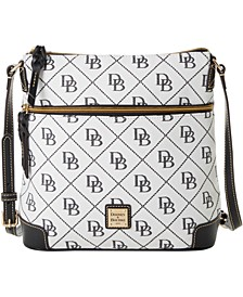 Maxi Quilt Signature Crossbody, Created for Macy's