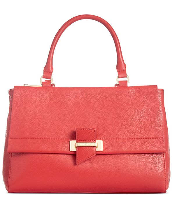 Kenneth Cole New York Crosby Leather Satchel