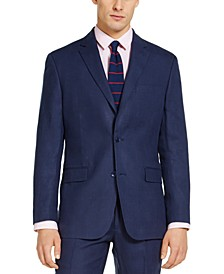 Men's Classic-Fit Linen Suit Separate Jacket