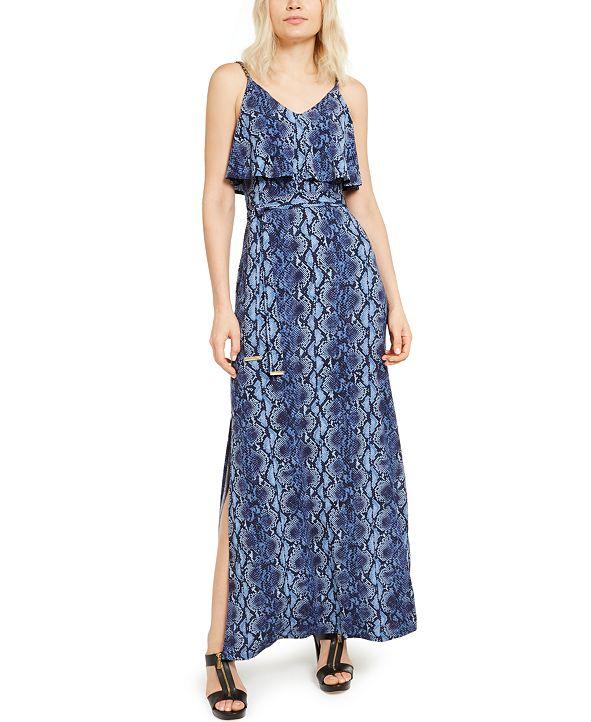 Michael Kors Snake Chain Maxi Dress