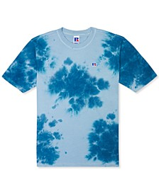Men's Slim-Fit Rock Garment-Dyed Tie Dye T-Shirt