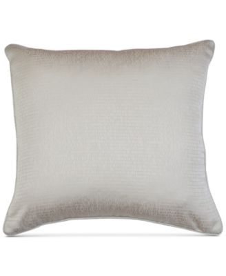 "Rosie Jacquard 20"" x 20"" Decorative Pillow"