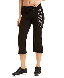Flared Cropped Sweatpants