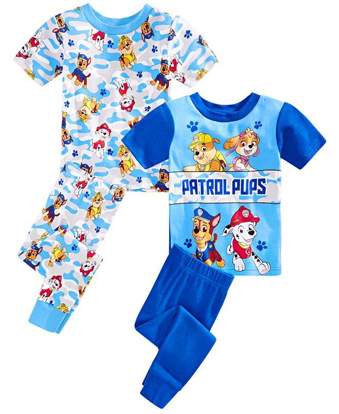 AME Toddler Boys 4-Pc. Paw Patrol Pajama Set