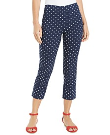 Petite Cropped Tummy-Control Skinny Pants, Created for Macy's