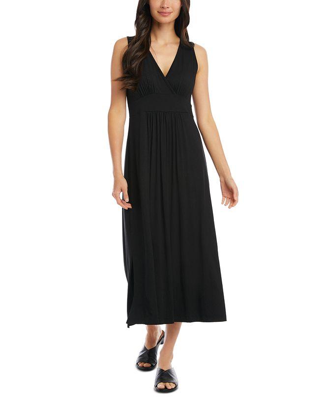 Karen Kane V-Neck Midi Dress