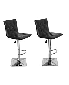 Ilene Adjustable Height Swivel Bar Stool