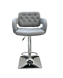 Epperson Adjustable Height Swivel Bar Stool