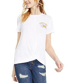 Juniors' Graphic-Print T-Shirt