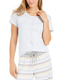 Women's Topstitch Pajama T-Shirt