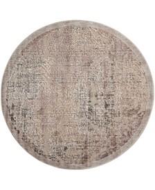 "Chimeras CHI09 Gray 5'3"" Round Area Rug"