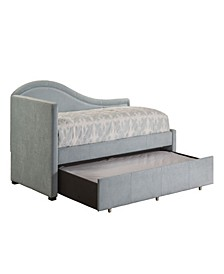 Olivia Upholstered Daybed with Trundle - Twin