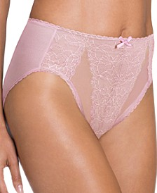 Retro Chic High-Cut Brief 841186