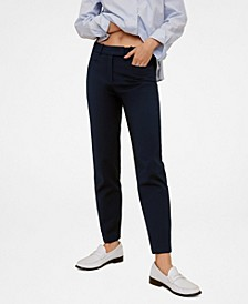 Women's Cotton Crop Pants