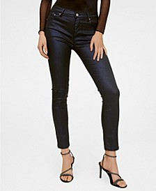 Coated Skinny Gloss Jeans