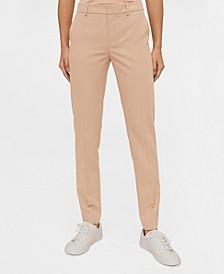 Belt Suit Trousers