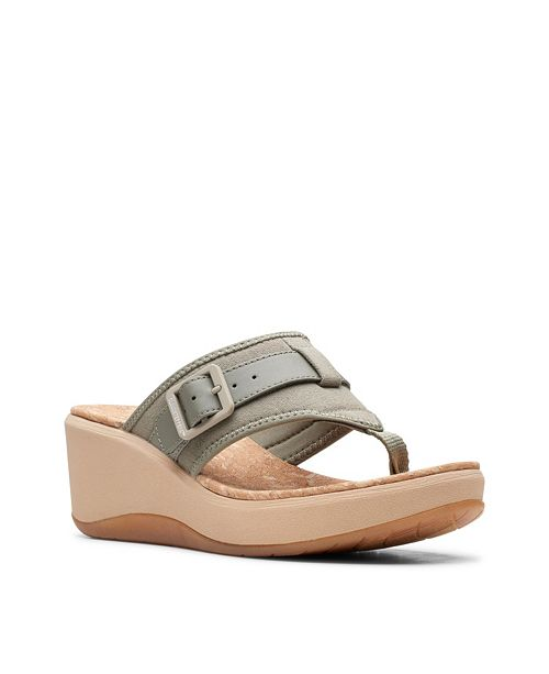 Clarks Cloudsteppers Women's Step Cali Sail Wedge Sandals