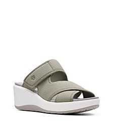 Cloudsteppers Women's Step Cali Wave Wedge Sandals