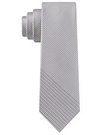 Men's Ribbed Crossbar Tie